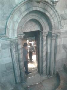 Izlaz iz Grota Bazilike Isusovog rođenja
