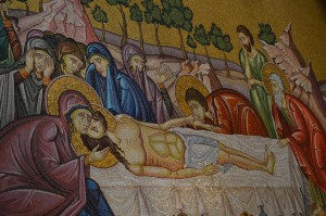 Mozaika u Bazilici Svetog groba