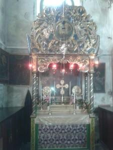 Oltar u Armenskoj kapeli Bazilike Isusuvog rođenja