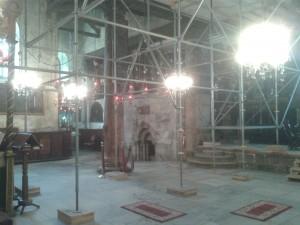 Radovi na restauraciji Bazilike Isusovog rođenja