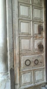 Ulazna vrata Bazilike Svetog Groba